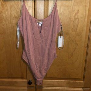 NWT Mauve bodysuit from revolve